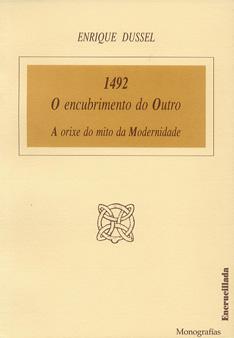 """Portada da monografía """"1492. O encubrimento do Outro"""""""